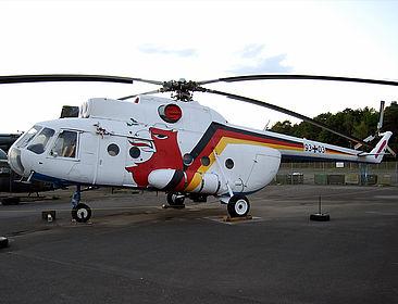 93+03 German Air Force Mil Mi-8 Wunstorf (ETNW)