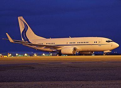 HL7770 32807 Samsung Techwin Aviation Boeing 737-7EG(BBJ) Brisbane International (BNE / YBBN)