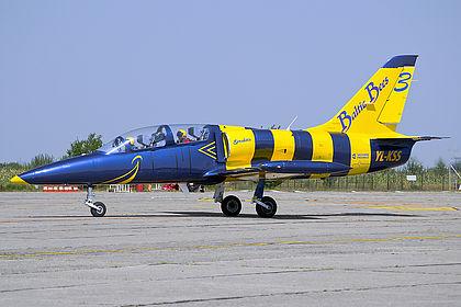 YL-KSS 934646 Baltic Bees Jet Team Aero L-39 Albatros Satu Mare (SUJ / LRSM)