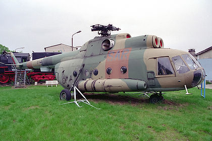 93+11 10542 German Air Force Mil Mi-8 Off-Airport