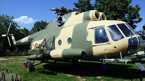 05 0526 Romanian Air Force Mil Mi-8 Off-Airport