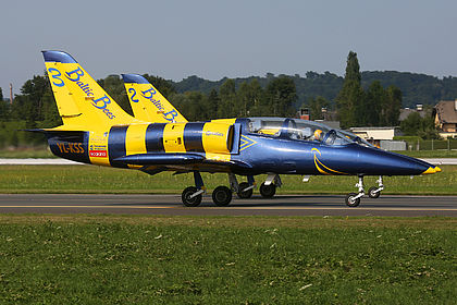 YL-KSS 934646 Baltic Bees Jet Team Aero L-39 Albatros Salzburg W.A. Mozart (SZG / LOWS)