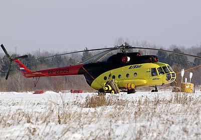 RA-22309 7128 UTair Aviation Mil Mi-8 Tobolsk (TOX)