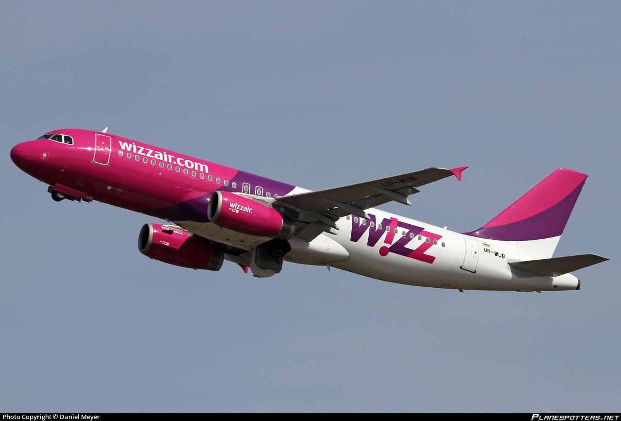 UR-WUB Wizz Air Ukraine Airbus A320-232 Photo by Daniel