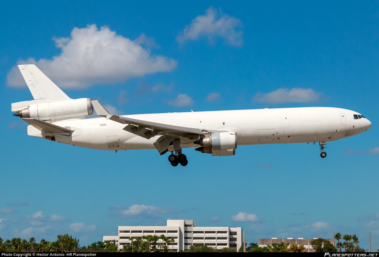 N435KD Western Global Airlines McDonnell Douglas MD-11F photographed at Miami International (MIA / KMIA) by HR Planespotter