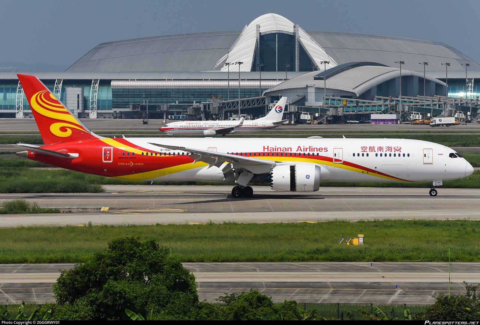 B-7667 Hainan Airlines Boeing 787-9