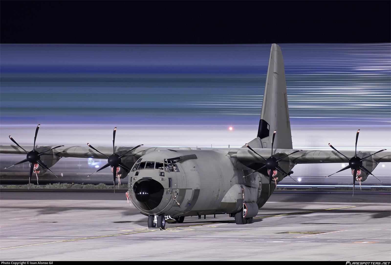 RAF C130J-30