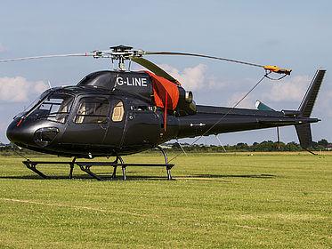 G-LINE 5566 Private Eurocopter AS 355 N Ecureuil 2 Duxford (QFO / EGSU)