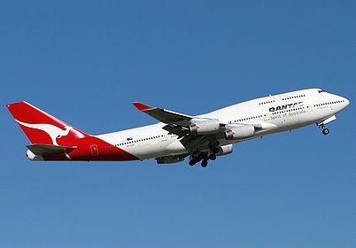 Vh Ojo Qantas Boeing 747 438