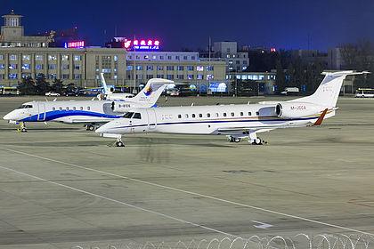 M-JCCA 14501182 Private Embraer EMB-135BJ Legacy 650 Beijing Capital (PEK / ZBAA)