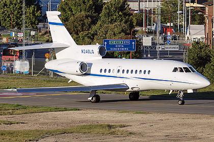 N240LG 61 Private Dassault Falcon 900EX Stockholm Bromma (BMA / ESSB)