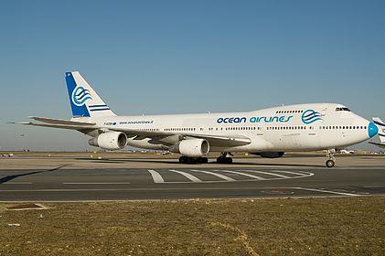 F-GCBH 23611 Ocean Airlines Boeing 747-230B(SF) Paris Charles De Gaulle (CDG / LFPG)