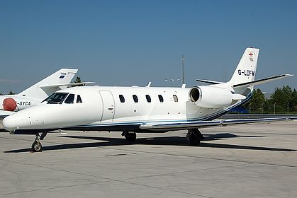 G-LDFM 560-5242 Private Cessna 560XL Citation Excel Vienna Schwechat (VIE / LOWW)