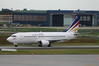 F-GIXF 26851 Europe Airpost Boeing 737-3B3(QC) Budapest Ferenc Liszt (Ferihegy) (BUD / LHBP)