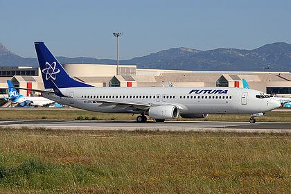 EC-KFB 28591 Futura Boeing 737-86N(WL) Palma De Mallorca Son San Juan (PMI / LEPA)