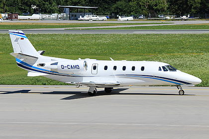 D-CAHO 560-6165 Air Hamburg Cessna 560XL Citation XLS+ Innsbruck Kranebitten (INN / LOWI)