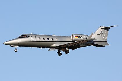 D-CLUZ 60-386 FAI rent-a-jet Learjet 60XR Malta Luqa (MLA / LMML)