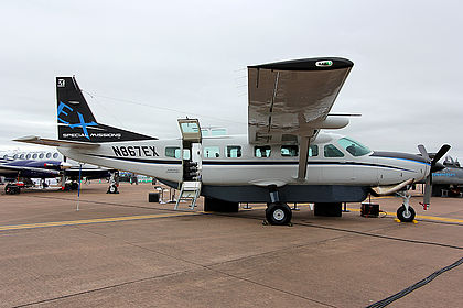 N867EX 208B5162 Private Cessna 208B Grand Caravan Fairford (FFD / EGVA)