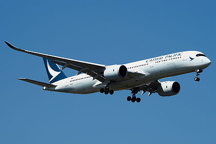 B-lre Pacific Cathay Airbus A350-941