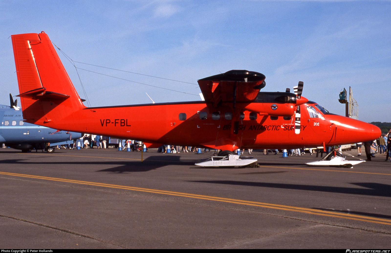 Vp Fbl British Antarctic Survey De Havilland Canada Dhc 6 300 Twin Otter Photo By Peter Hollands Id 1128315 Planespotters Net