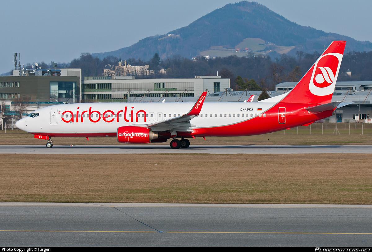 D-ABKA Air Berlin Boeing 737-82R(WL) Photo by Jürgen   ID 330933   Planespotters.net