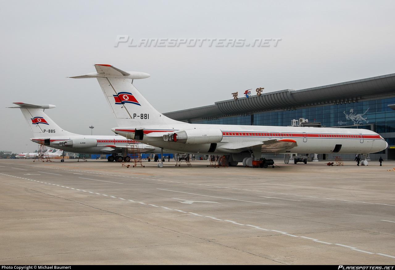 P 881 Air Koryo Ilyushin Il 62m Photo By Michael Baumert Id
