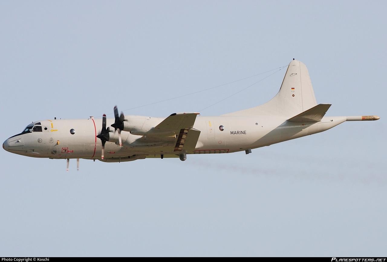 Risultato immagini per German Navy Lockheed P-3C (60+01)