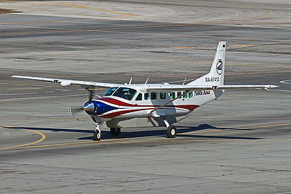 RA-67413 2393 Tomskavia Cessna 208B Grand Caravan Novosibirsk Tolmachevo (OVB / UNNT)