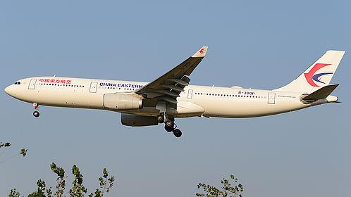 B-300P 1873 China Eastern Airlines Airbus A330-343 Beijing Capital (PEK / ZBAA)
