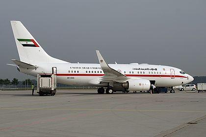 A6-DAS 29858 Abu Dhabi Amiri Flight Boeing 737-7Z5(BBJ) Munich Franz Josef Strauss (MUC / EDDM)