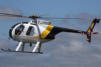 ZK-HVT 1090586D Tekapo Helicopters Hughes 369 Christchurch International (CHC / NZCH)
