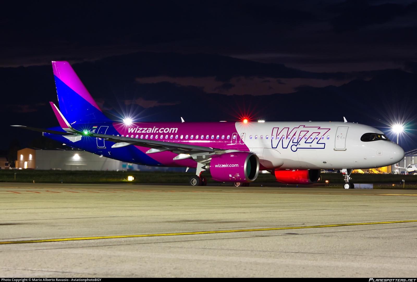 Ha Lje Wizz Air Airbus A320 271n Photo By Mario Alberto Ravasio Aviationphotobgy Id 1097591 Planespotters Net