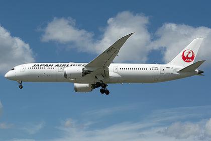 JA861J Japan Airlines Boeing 787-9