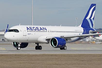 SX-NEA Aegean Airlines Airbus A320-271N