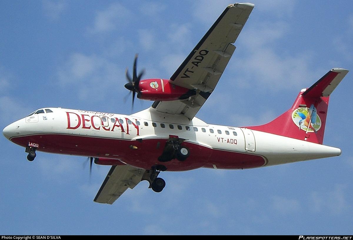 VT-ADQ Simplifly Deccan ATR 42-500 Photo by SEAN D'SILVA | ID ...