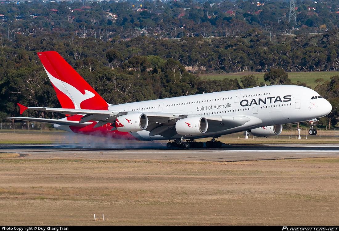 Vh Oqa Qantas Airbus A380 842 Photo By Duy Khang Tran Id 961216 Planespotters Net