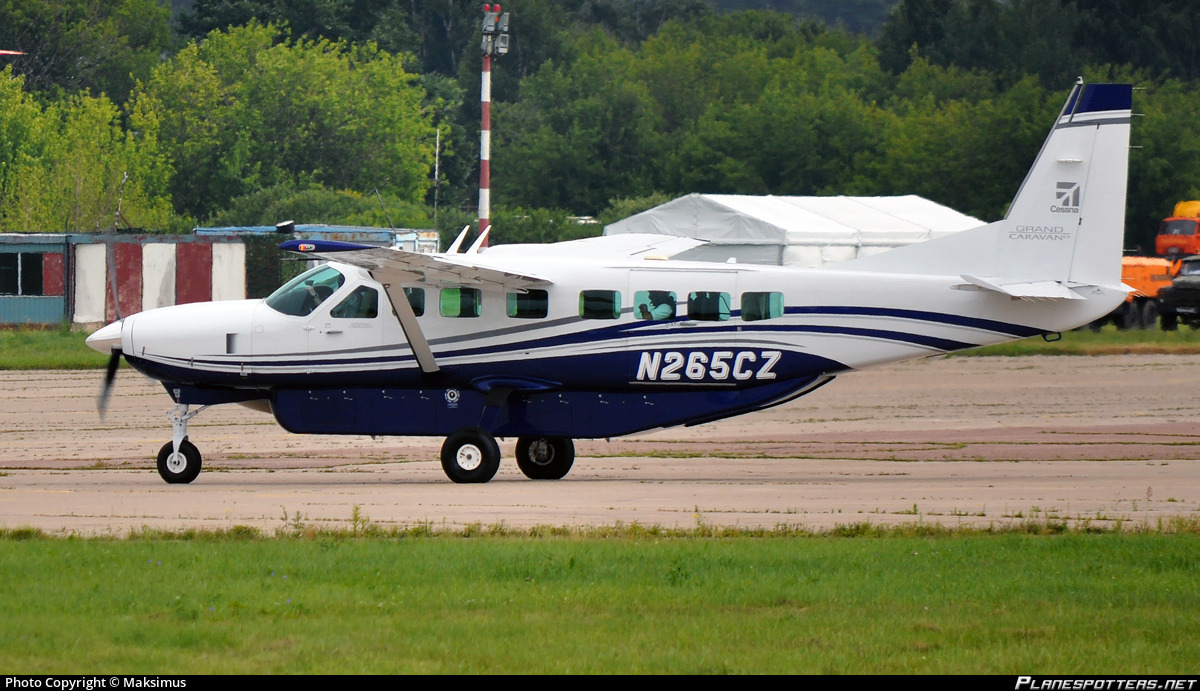 N265cz Textron Aviation Cessna 208b Grand Caravan Photo By Maksimus Id 802850 Planespotters Net