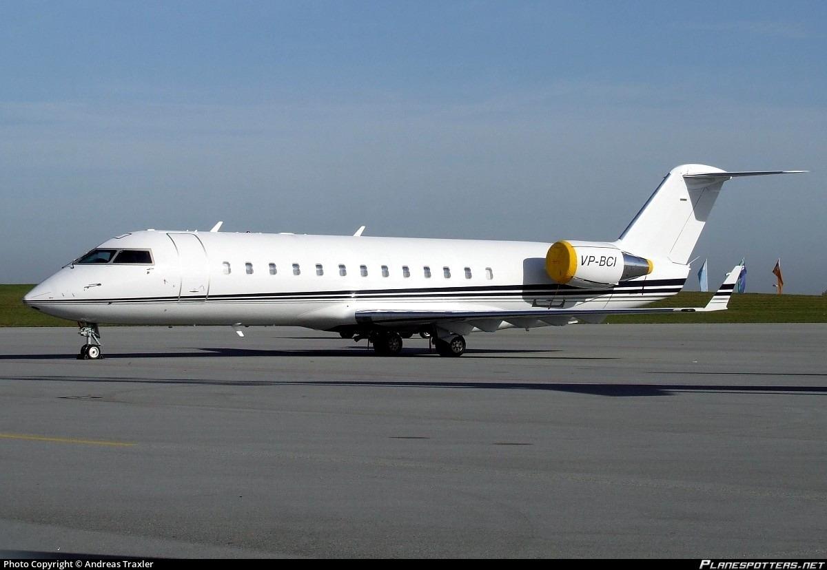 VP-BCI Consolidated Contractors Company Bombardier CRJ-200