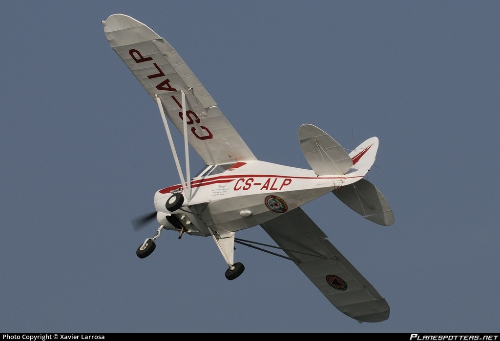 CS-ALP Aero Club de Portugal Piper PA-22-108 Colt Photo by