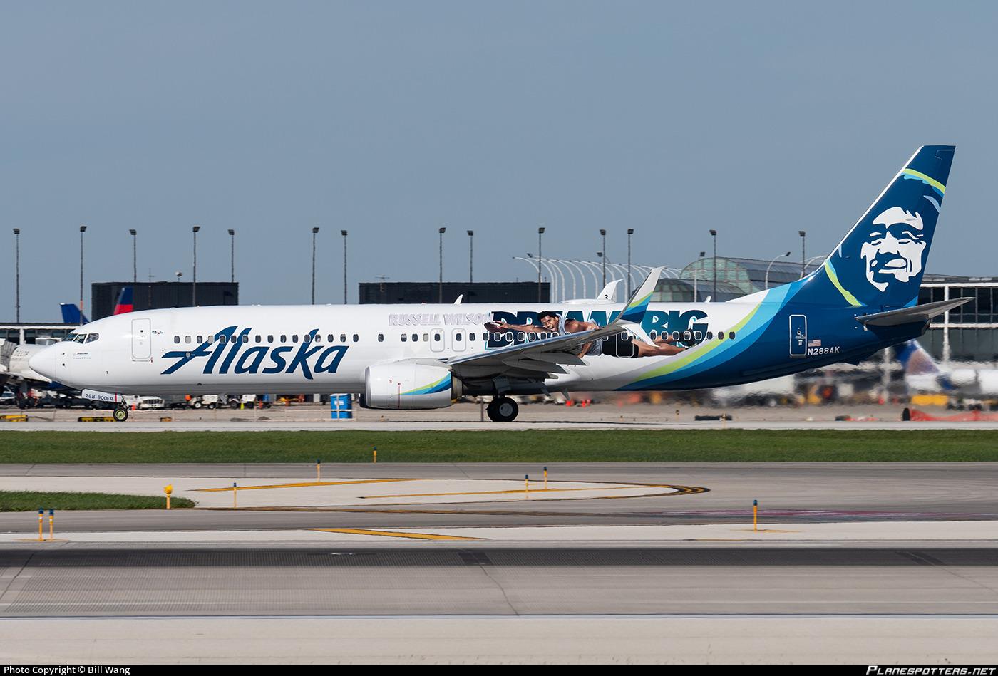 N288ak Alaska Airlines Boeing 737 990 Er Wl Photo By