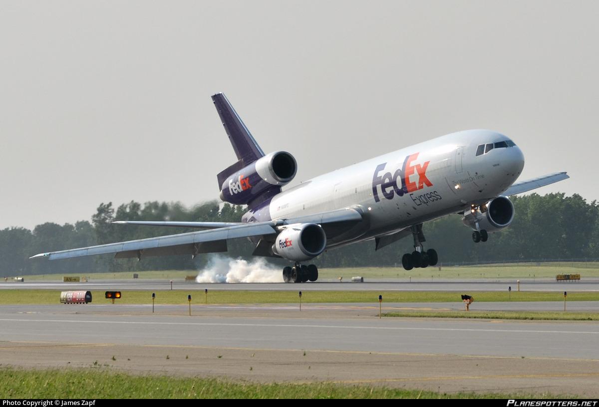 N368FE Federal Express (FedEx) McDonnell Douglas MD-10-10F Photo by ...