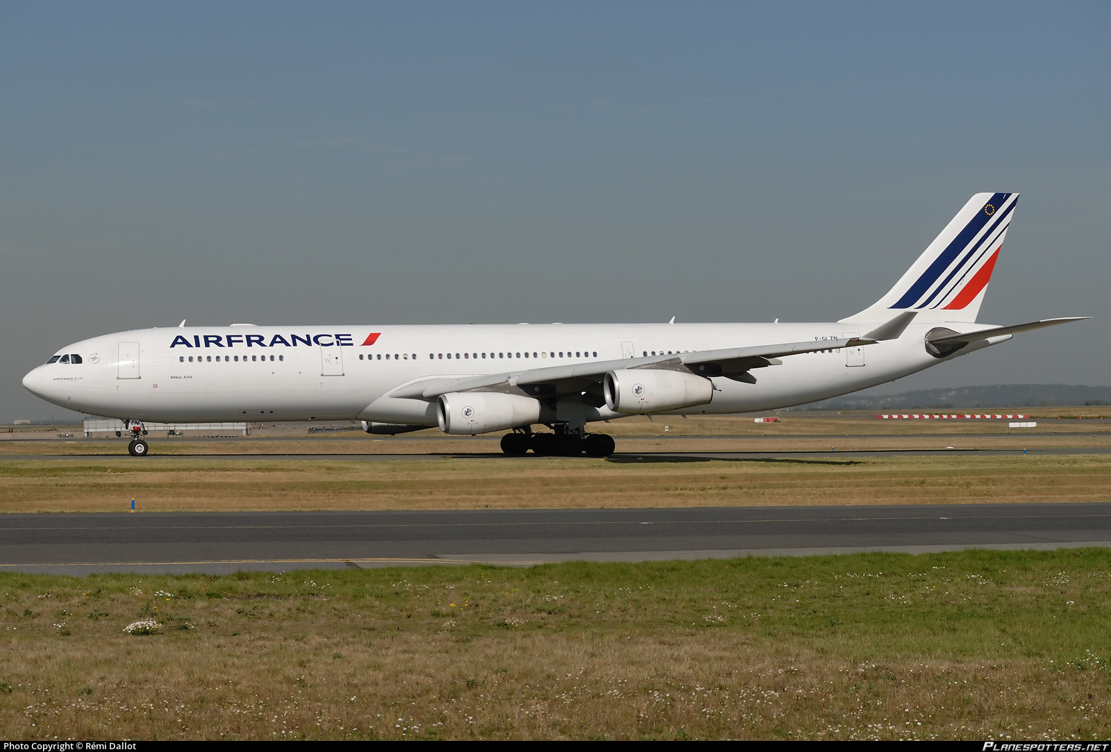 f glzn air france airbus a340 313 photo by remi dallot id 220310. Black Bedroom Furniture Sets. Home Design Ideas