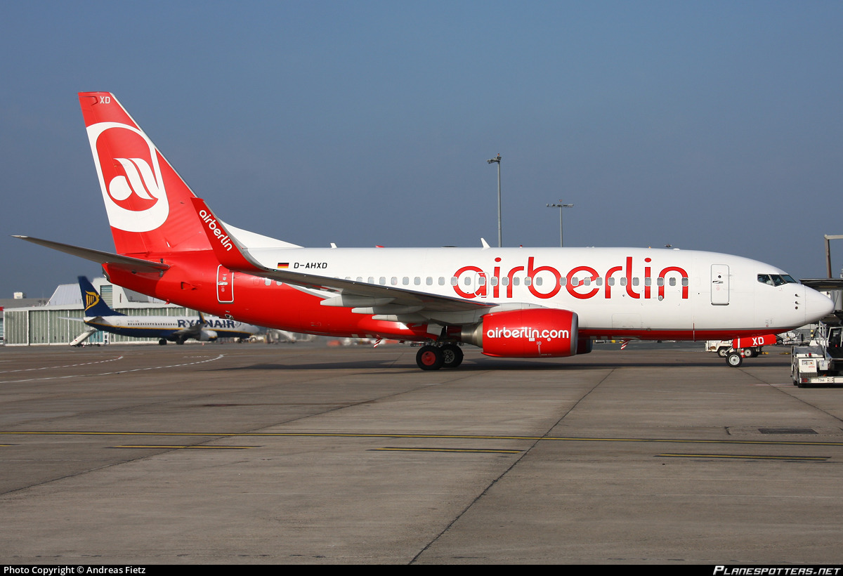 D-AHXD Air Berlin Boeing 737-7K5(WL)