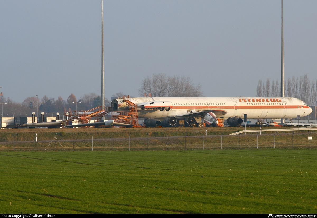 DDR-SEF Interflug Ilyushin Il-62M photographed at Leipzig / Halle (LEJ / EDDP) by Oliver Richter