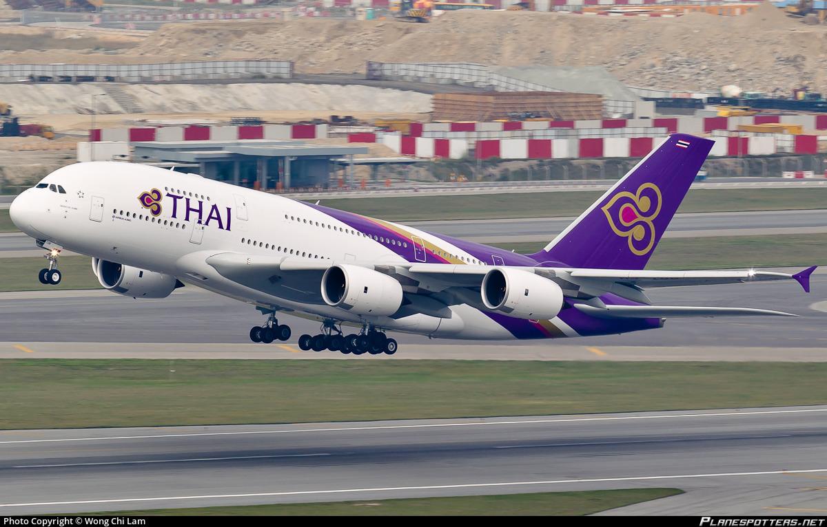 Hs Tub Thai Airways International Airbus A380 841 Photo By