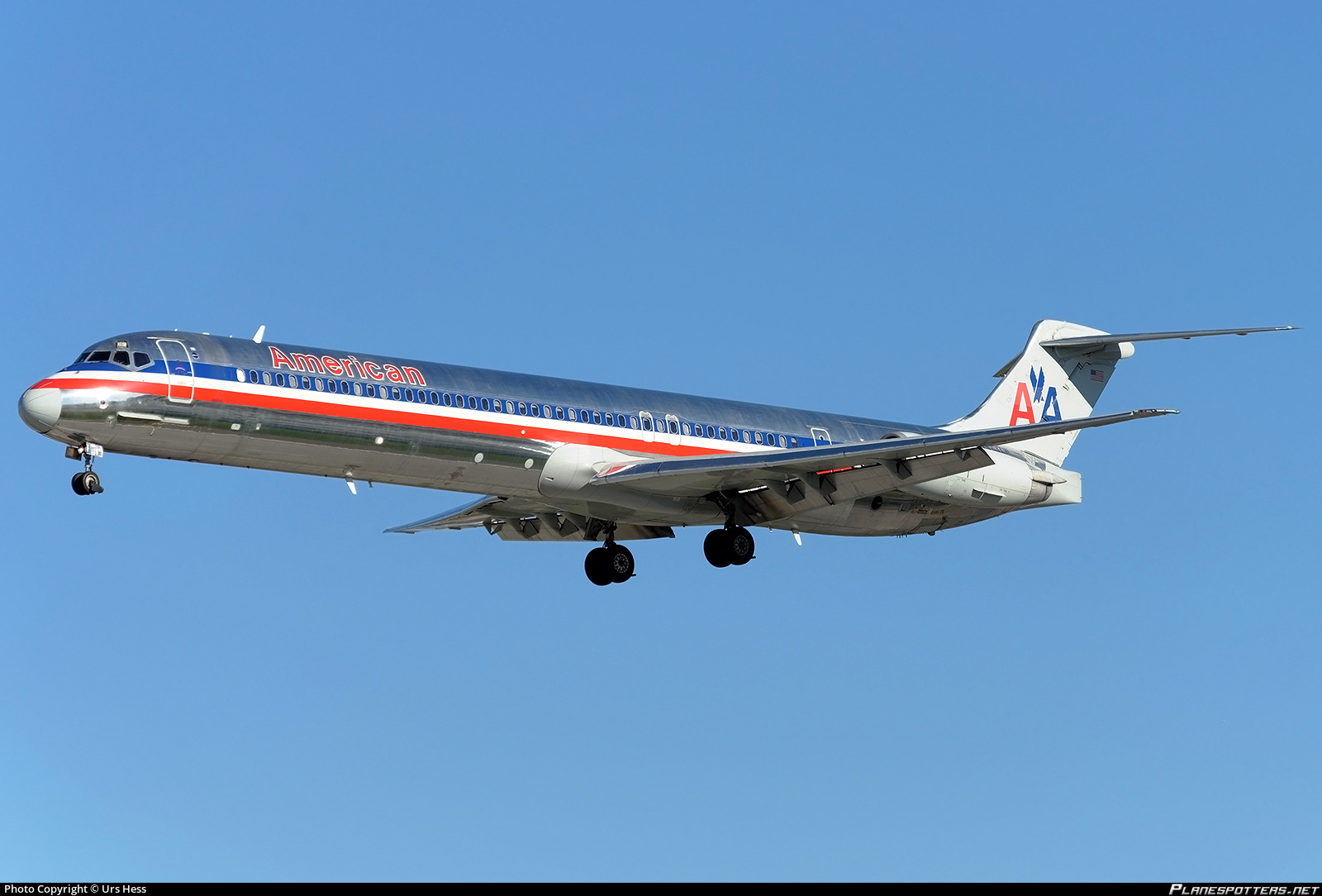 N973tw American Airlines Mcdonnell Douglas Md 83 Dc 9 83