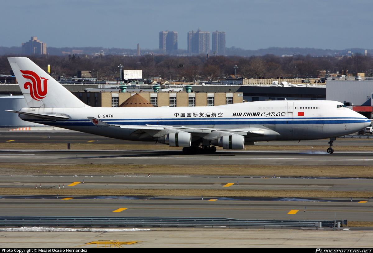 B-2478 Air China Cargo Boeing 747-433(BDSF)
