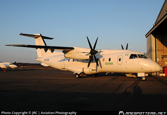 5N-DOX Dornier Aviation Nigeria Aiep (DANA) Dornier 328-110