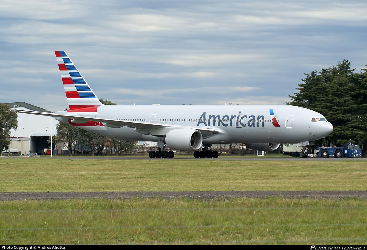 Resultado de imagen para american airlines 777-200 ezeiza