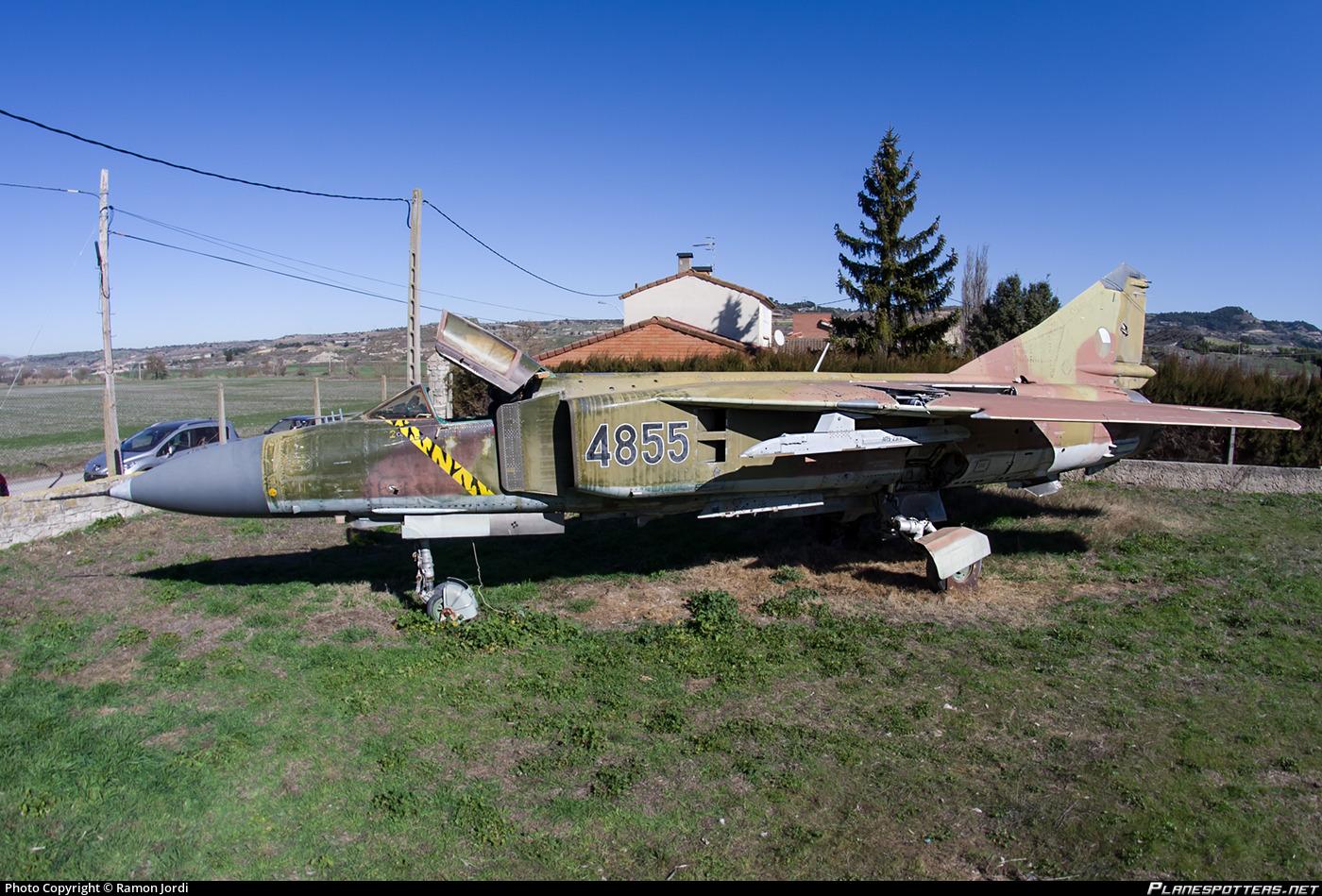 4855 Czech Air Force Mikoyan-Gurevich Mig-23ML